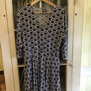 Agnes and Dora Midi Dress A&D XL